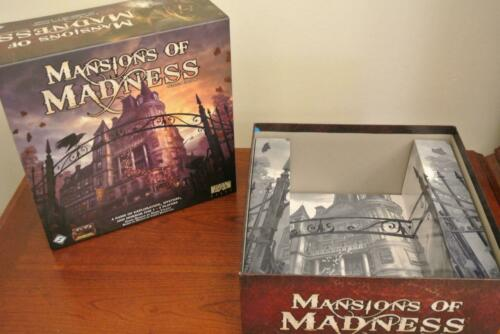 DICE Card Decks CONVERSION KIT MANSIONS OF MADNESS 2ND ED Replacement Pieces