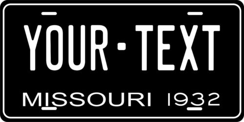 Missouri 1932 Plate Personalized Custom Car Bike Motorcycle Moped Key Tag