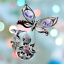 Crystocraft-Butterfly-amp-Flower-Crystal-Ornament-With-Swarovski-Elements-Gift-Box thumbnail 2