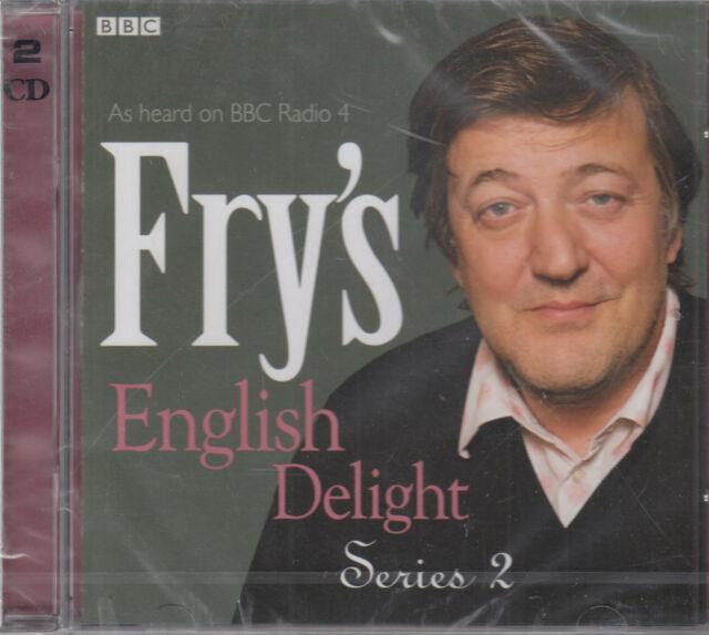 Fry's English Delight Series 2 2CD NEW BBC Radio 4 Stephen Language FASTPOST