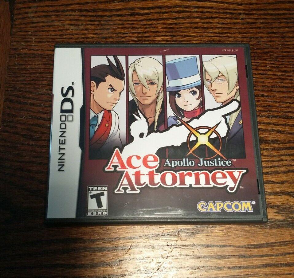 Apollo Justice: Ace Attorney (Nintendo DS, 2008) Complete 1