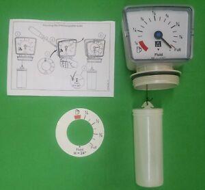 Details about Fuel Oil, Diesel Oil, DEF or Water Tank Gauge 275, 330, 55  gallon 42