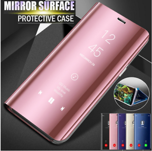 new style fc81f 9a6e2 Details about Luxury Smart Leather Clear View Flip Stand Plating Case Cover  For Xiaomi Mi A1