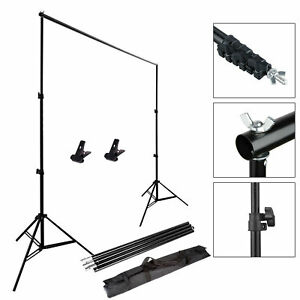 10Ft-Adjustable-Background-Support-Stand-Photo-Backdrop-Crossbar-Kit-Photography