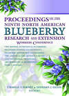 Proceedings of the 9th North American Blueberry Research and Extension Workers Conference by Charles Forney, Leonard Eaton (Paperback, 2004)
