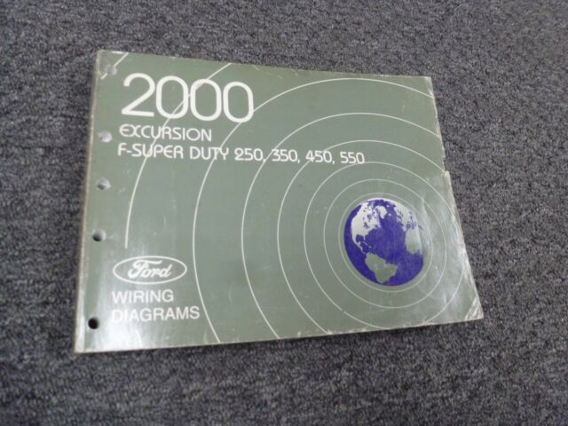 2000 Ford Excursion Electrical Wiring Diagram Manual Xlt