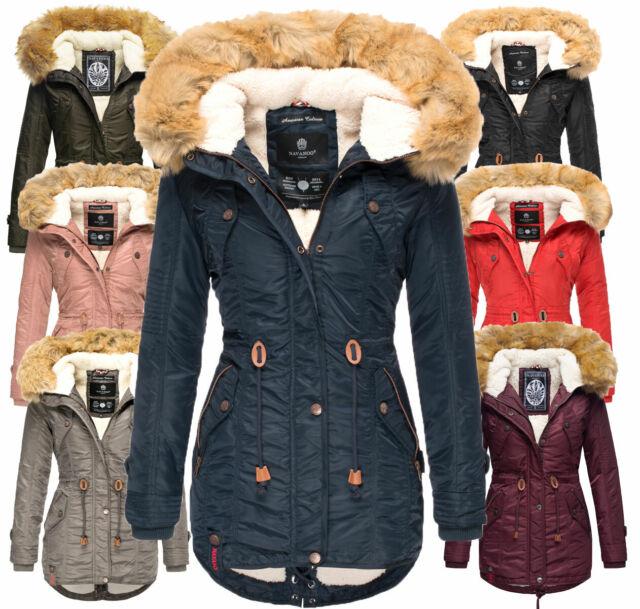 Navahoo Damen WinterJacke winter Mantel winter parka warm Outdoor Jacke LaVIVA