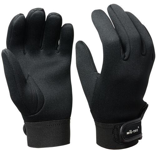 Black Neoprene Gloves Winter Cycling Walking Fishing Wet Warm 3mm Thick New
