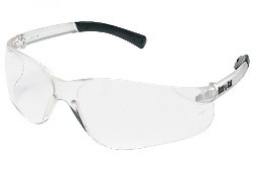 CREWS BK210 BEARKAT SAFETY GLASSES CLEAR LENS SIZE SMALL LADY YOUTH CASE 144 PRS