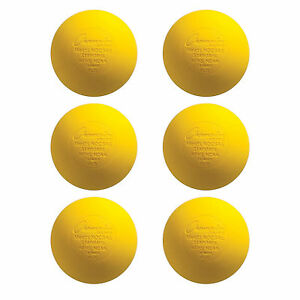 NEW-Yellow-Lacrosse-Balls-NOCSAE-SEI-NFHS-NCAA-Certified-6-Pack