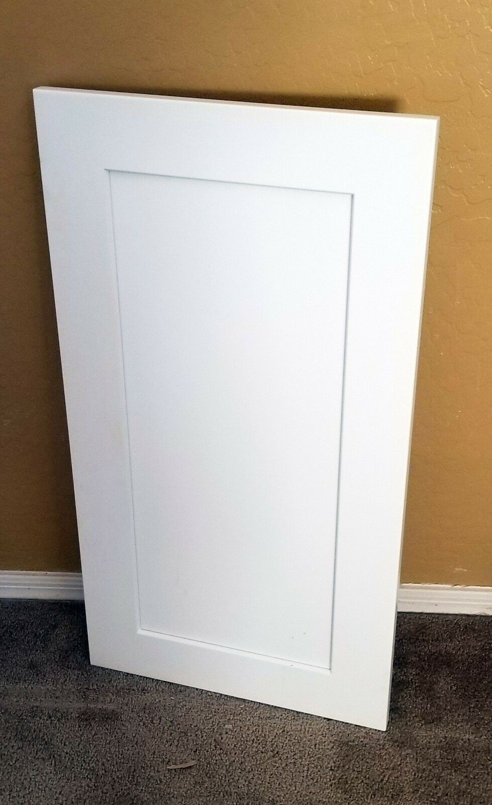 Wood shaker white cabinet doors
