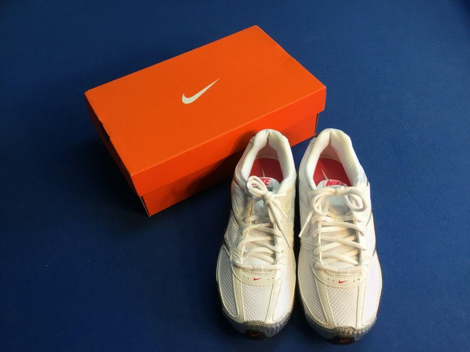 Donna Nike Reax Run 5 Scarpe da Ginnastica, Bianco, Misura 7, Nuovo