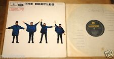 GEORGE MARTIN HELP! AUTHENTIC SIGNED UK BEATLES 1ST PRESS MONO PARLOPHONE LP
