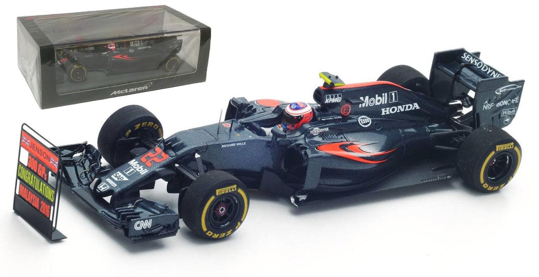 S5024 des étincelles McLaren MP4-31 2016 & '300 GPs Pitboard  - échelle de Jenson Button 1 43