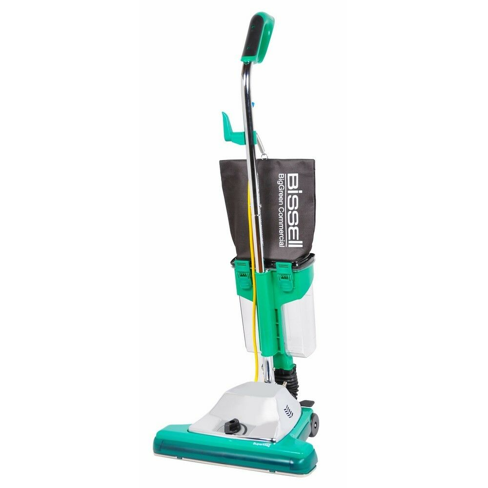 Bissell Biggreen Commercial Bg102Dc Procup Comfort Grip Handle Upright Vacuum Wi