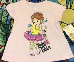 6584cdfe86d3 DISNEY FANCY NANCY PINK SHIRT SIZE 2T 3T 4T 5T NEW!