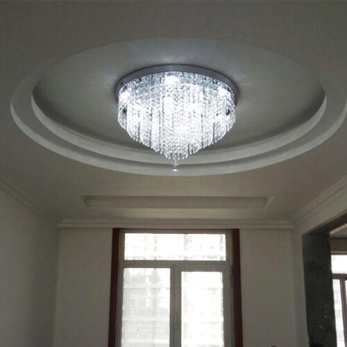 Modern Crystal Pendant Light Ceiling Lamp Chandelier Living//Dining Room Lighting