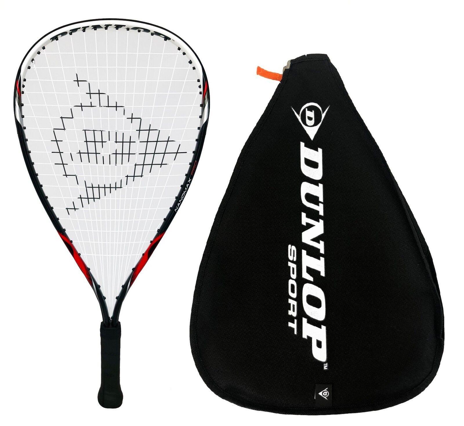 Dunlop Biotec Titanium Racketball Raquette 3 Balles