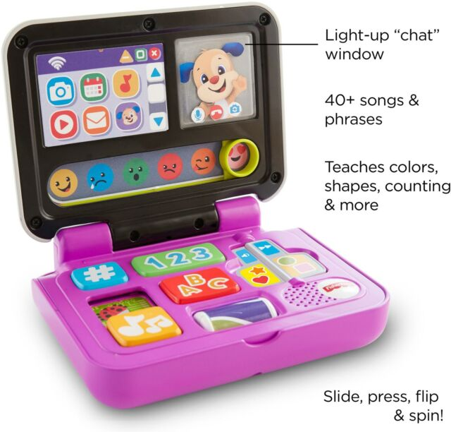 Year Olds Educational Computer Toy Kids Children Girls Boys Learning Toys For 3