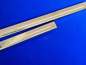Escort-Mk1-FORD-Umbrales-Para-Puerta-Acero-Inoxidable-Grabado-Logo-Opcion