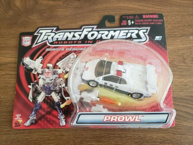 Transformers PROWL & X-BRAWN RID Robots in Disguise Hasbro NOC Level 2&3 2001