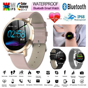 Women-Men-Fashion-Bluetooth-Smart-Watch-Waterproof-Heart-Rate-for-iOS-Android