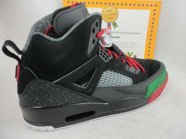 24553e954fce48 Nike Air Jordan 2017 Spizike Black Varsity Red Green 315371-026 Mens Size  11 for sale online