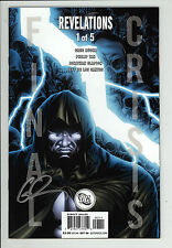 Final Crisis: Revelations (2008) #1 Signed by Greg Rucka no COA First Print NM