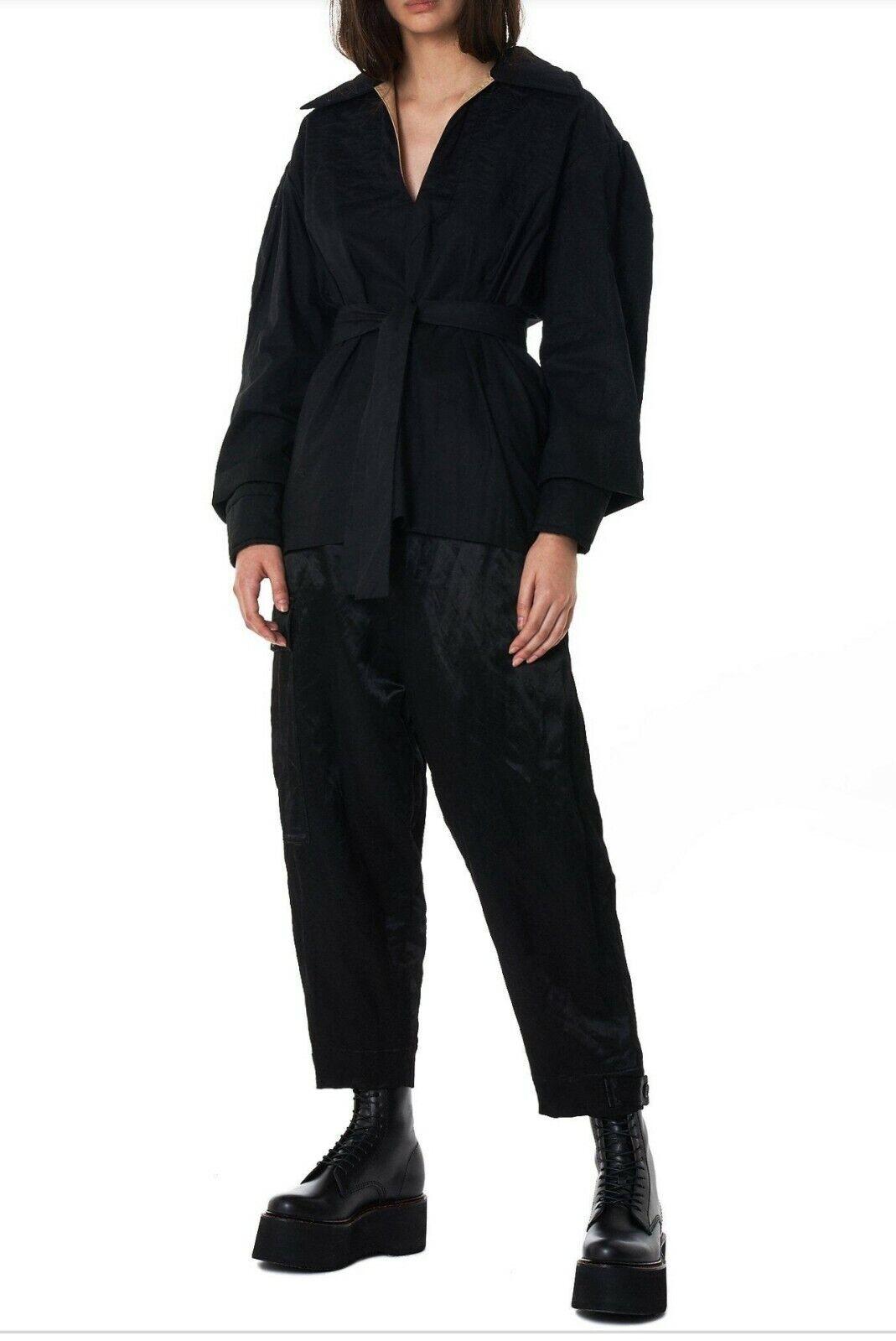 Vivienne Westwood Dock Blouse Basic Hemding-MEDIUM