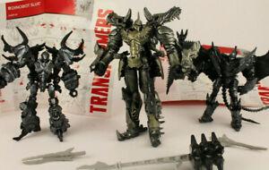 Hasbro Transformers AOE Dinobots Custom Repainted action figures, Grimlock loose
