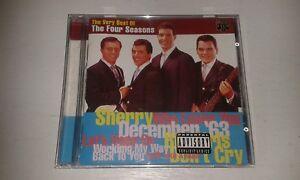 THE-FOUR-SEASONS-VERY-BEST-CD-INC-SHERRY-DECEMBER-039-63-WALK-LIKE-A-MAN