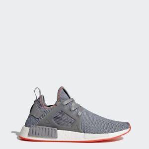 d980e80db Image is loading adidas-Originals-NMD-XR1-Mens-Shoes-Grey-Solar-
