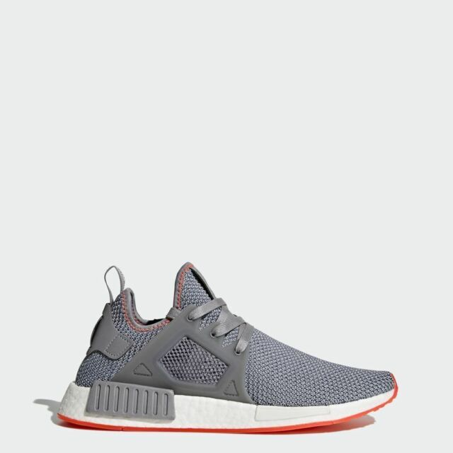 new product e0db4 63984 adidas NMD XR1 Mens Shoes Grey/Solar Red BY9925
