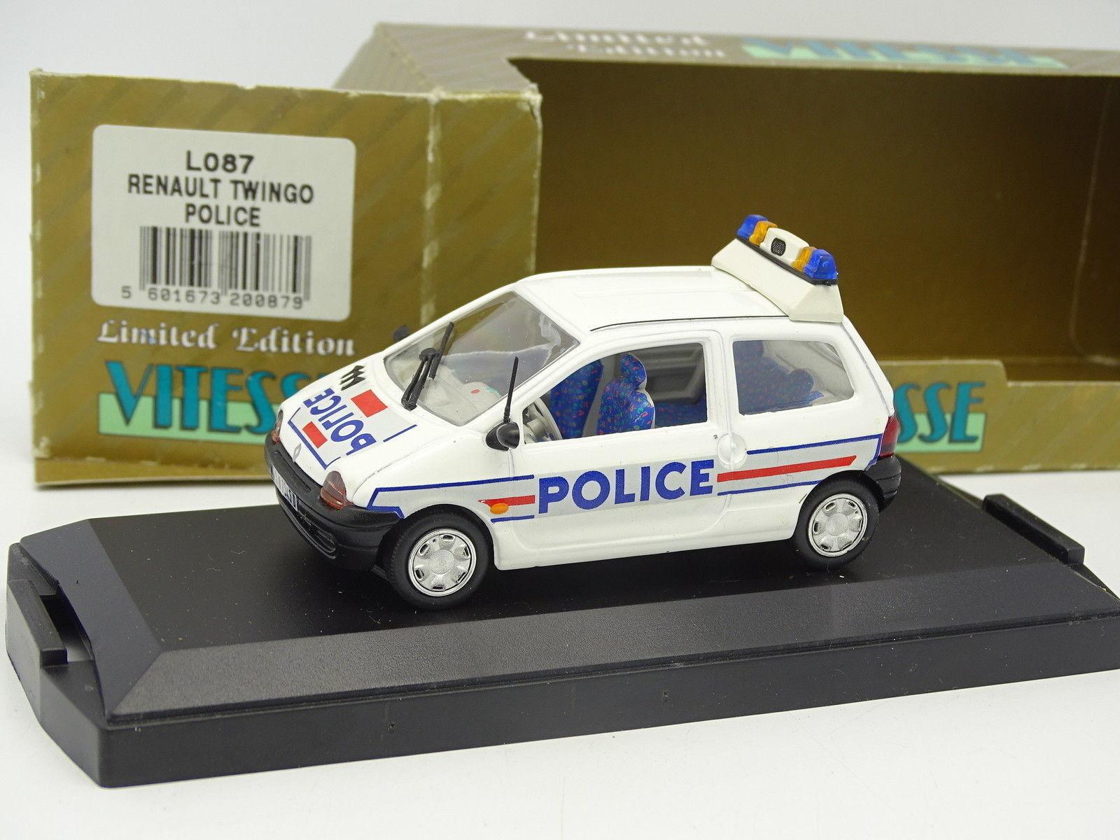 Vitesse 1 43 - Renault Renault Renault Twingo Polizia e5a49c