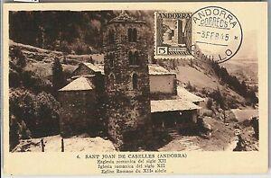 59145 - ANDORRA - POSTAL HISTORY: MAXIMUM CARD 1945 - ARCHITECTURE