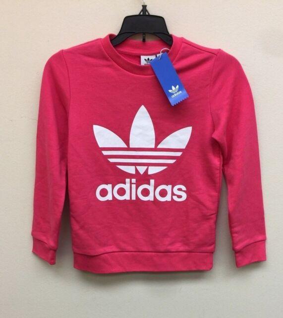 e4af80cfe31 adidas Trefoil Crew Sweatshirt Kids' for sale online | eBay