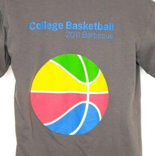 Tech Bbq T 2011 medio Employee College Technology Basketball Tamaño Shirt Google nRxUCat