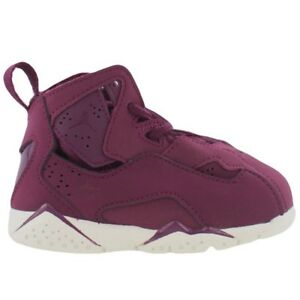 0ae8007c44afd9 New Baby Air Jordan True Flight Toddler Shoes (343797-625) Bordeaux ...