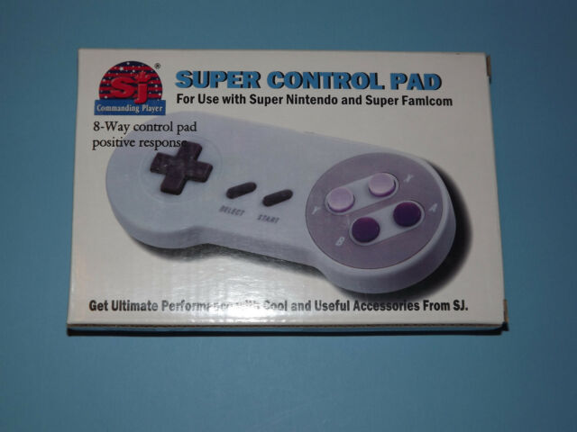 SUPER NINTENDO SNES GAME CONTROLLER  WITH GUARANTEE BRAND NEW IN BOX