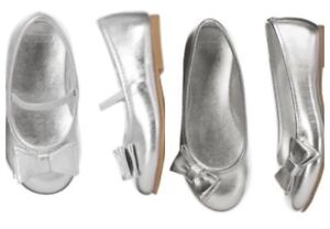 Gymboree Very Merry Toddler Size 7 6 5 Choice Silver Glitter Dress Shoes Holiday