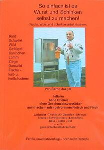 """Räucheröfen & -utensilien Verantwortlich Broschüre """"wurst-schinken-fische Selbst Räuchern""""/edelstahl-räucheröfen,grill Um Jeden Preis Angelsport"""