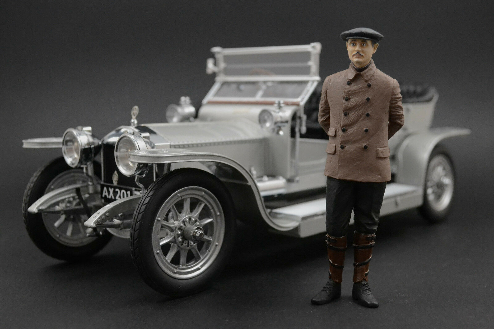 Charles rolls figure for 1 18 Rolls-royce kyosho