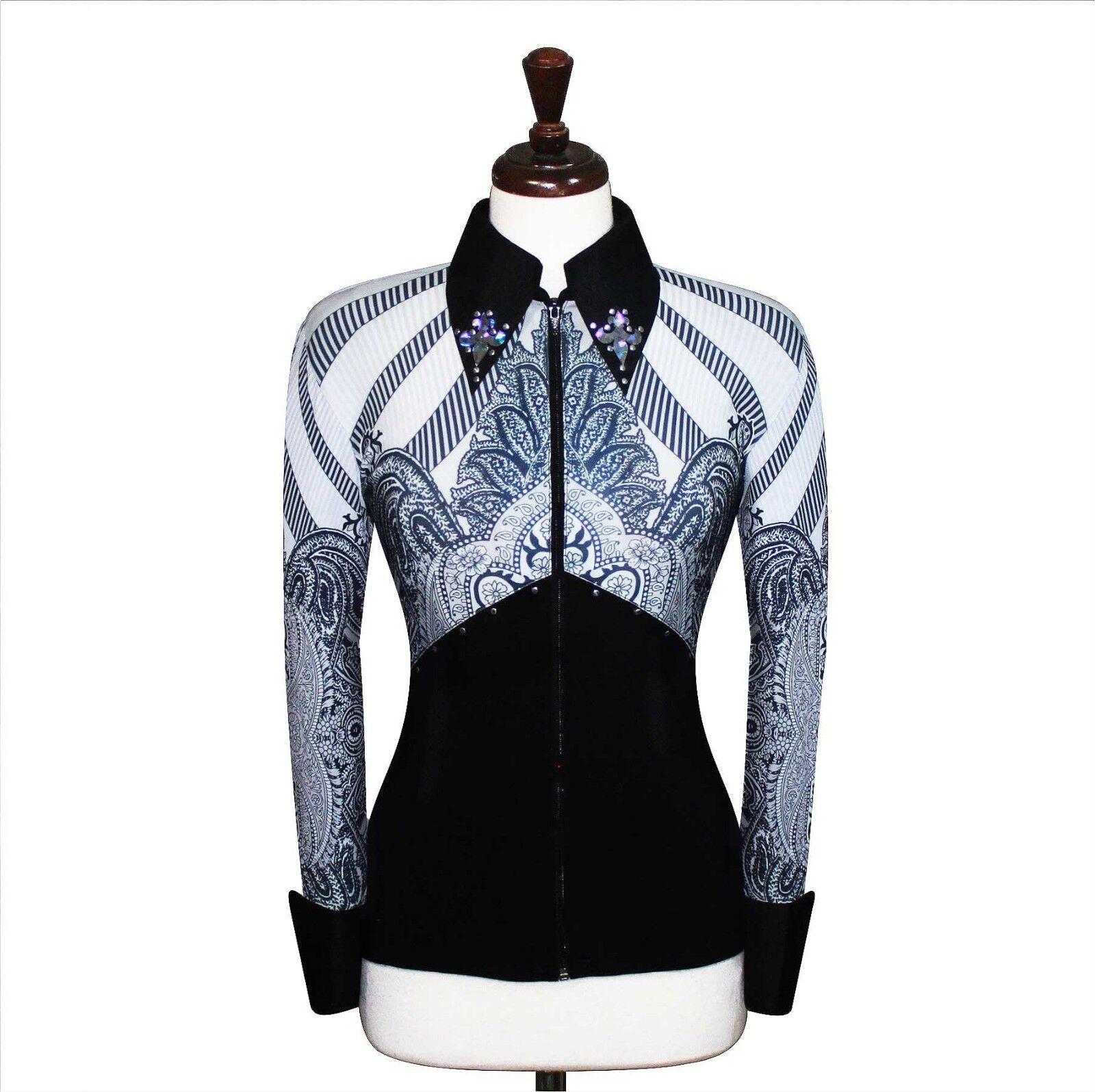 XL Western alardes Pleasure Horsemanship show camisa chaqueta rodeo Queen