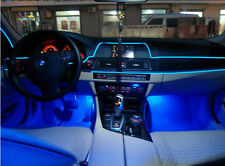 New 3M 12V Blue LED Light Glow EL Wire String Strip Rope Tube Car Interior Decor