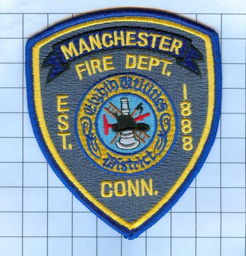 Connecticut Fire Patch -Manchester 8th Utilities District est 1888.
