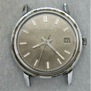 Poljot Armbanduhr,Handaufzug,mechanisch,Datumsanzeige,ohne Band,Bastleruhr,