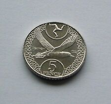MANX SHEARWATER ISLE OF MAN 5p COIN ISSUED APRIL 2017 NEW FROM TOWER MINT
