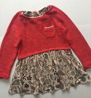 Next Girl Dress Age 3-4 Years Autumn Winter