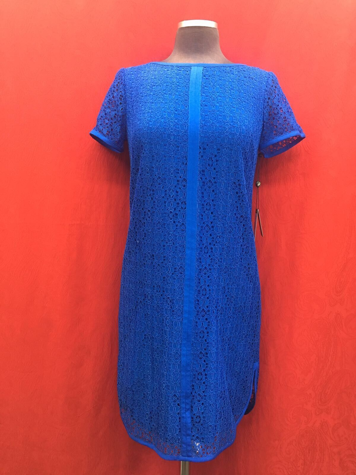ADRIANNA PAPELL DRESS  NEW WITH TAG SIZE 4 RETAIL  LACE DRESS