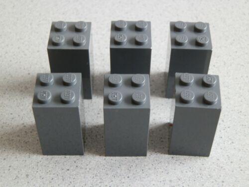 Lego 30145# 6x Stütze 2x2x3 grau neu dunkelgrau 8781 8672 7019